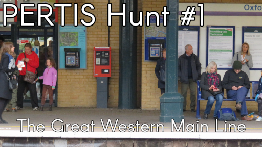 PERTIS Hunt Number 1, The Great Western Mainline. Click to open video.