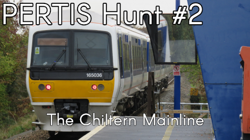 PERTIS Hunt Number 2, The Chiltern Mainline. Click to open video.